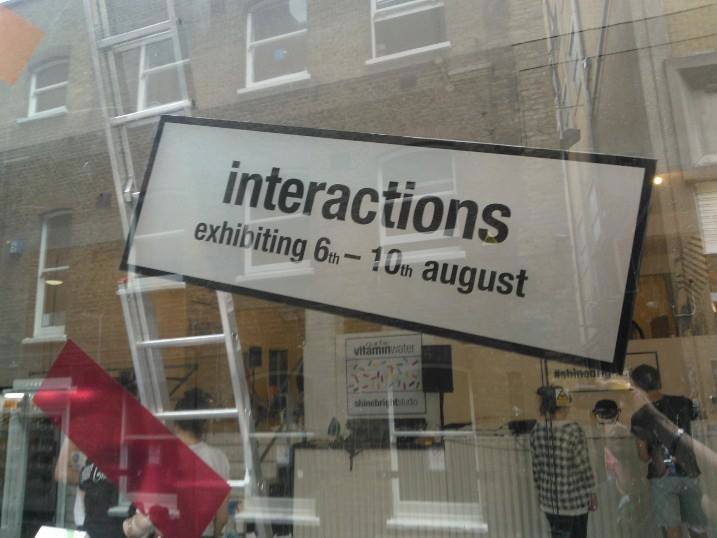 interactions poster